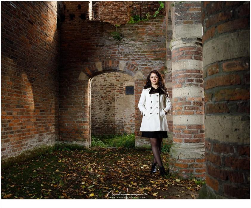 Een klein beetje extra licht tijdens deze fotoshoot met Irena