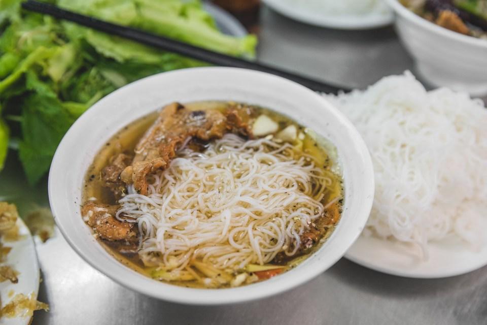 Bun Cha Huong Lien, Hanoi, Vietnam