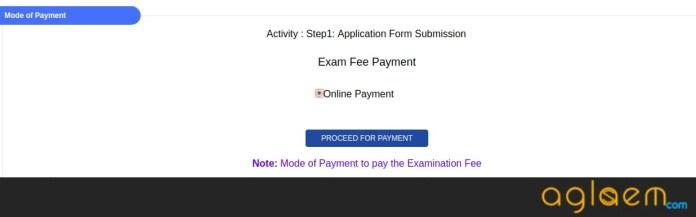 OJEE MBA 2018 Application Fee