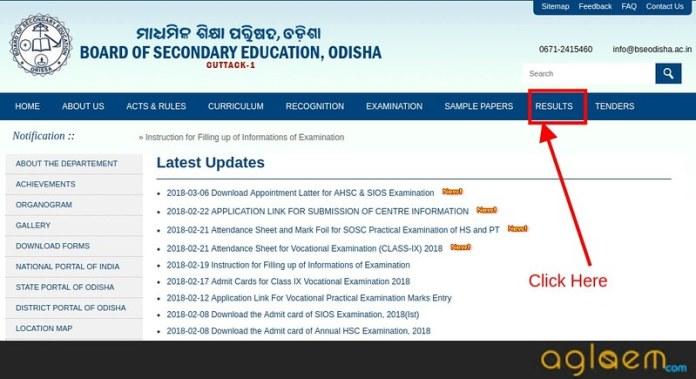 BSE Odisha Result