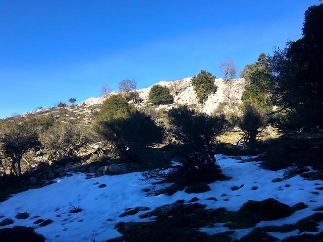 Κατά την ανάβαση στο Ξηρό Όρος