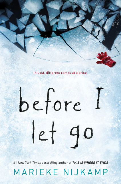 The Cover of Before I Let Go