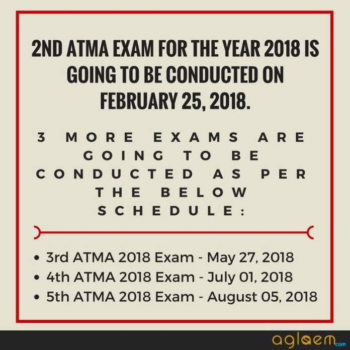 ATMA 2018 Sample Paper