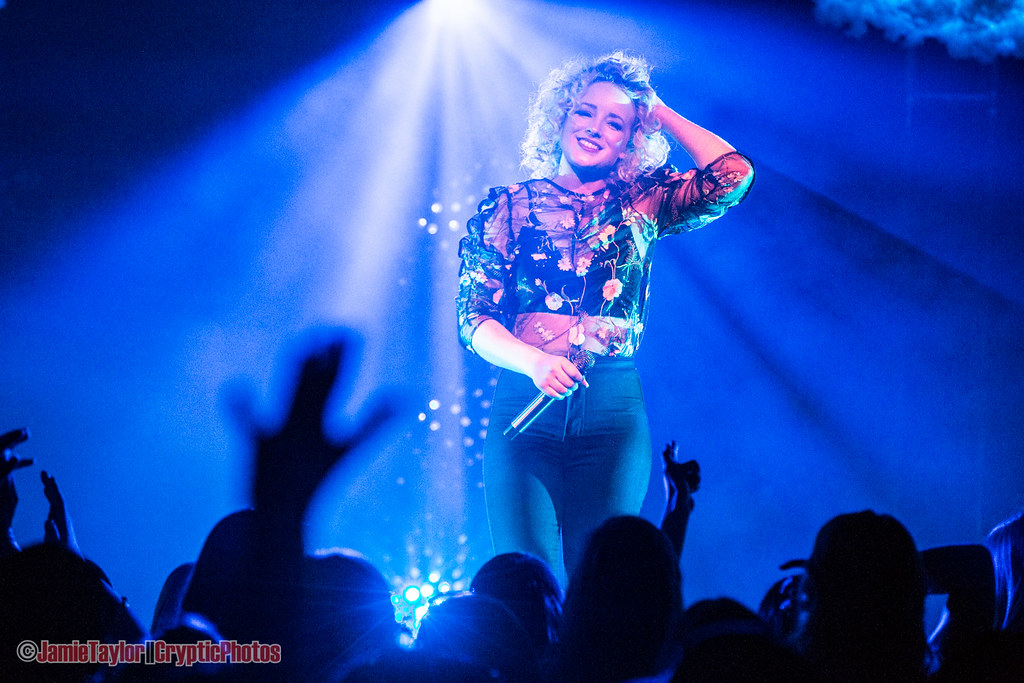 Photo of CAM at The Commodore Ballroom in Vancouver, BC on December 14th 2017