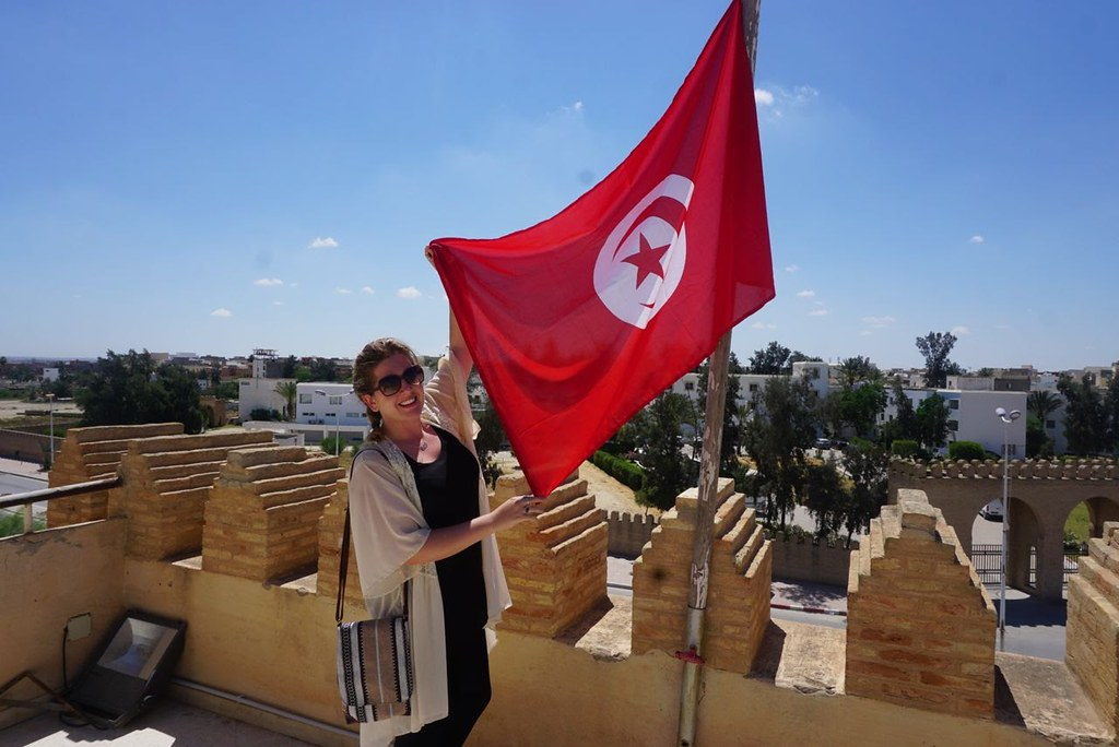 tunisia kairouan flag