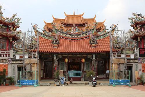 【寫生】台南善化「慶安宮」:來畫憨番(13.1ys)