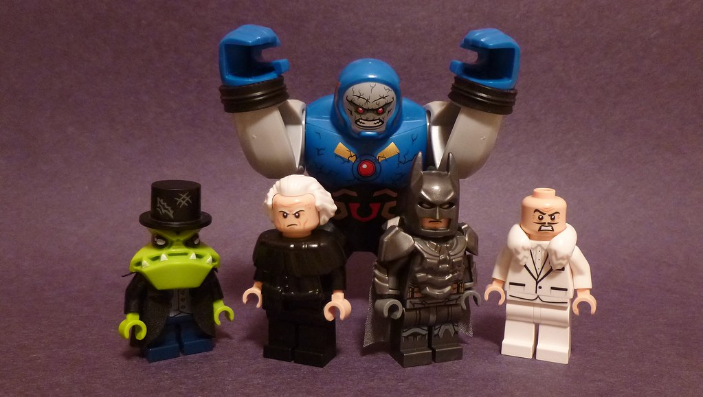 Lego DC Figures 103 From L To R Mr Toad Head Idea Stole Flickr