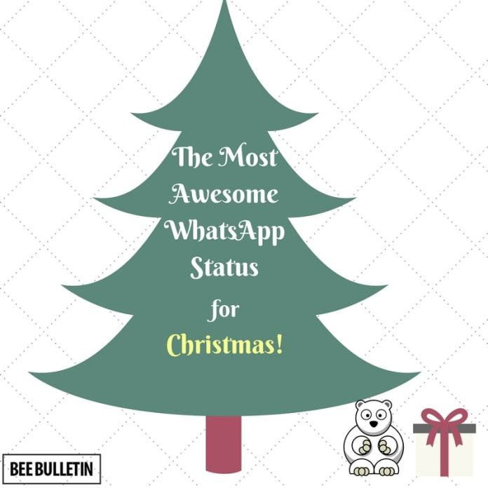30+ Best Merry Christmas WhatsApp Status That Are Funny And Witty