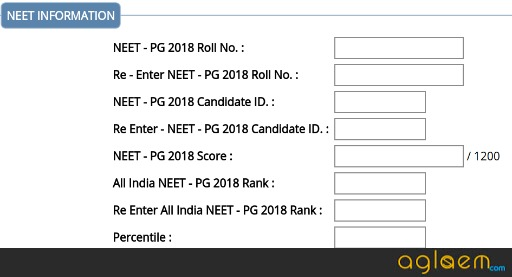 DMER Maharashtra PG Medical Admission 2018: Registration, Merit List