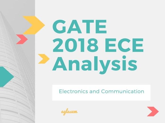 GATE 2018 ECE Analysis