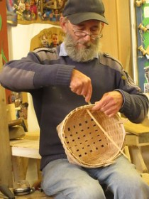 Ash splint basket making UK