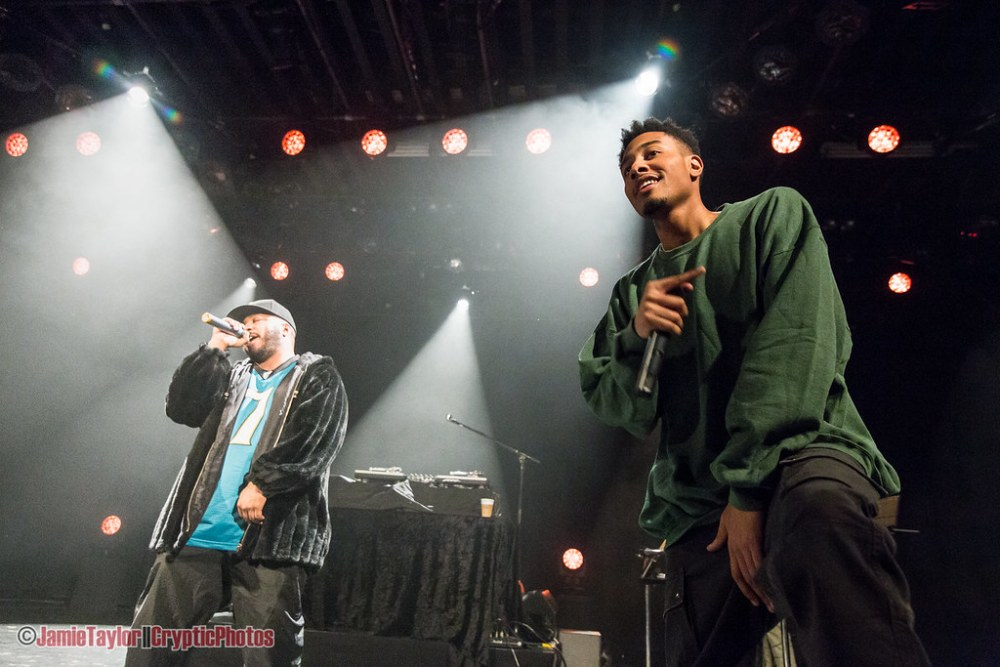 The Cool Kids at the Commodore Ballroom in Vancouver, BC on January 9th, 2017