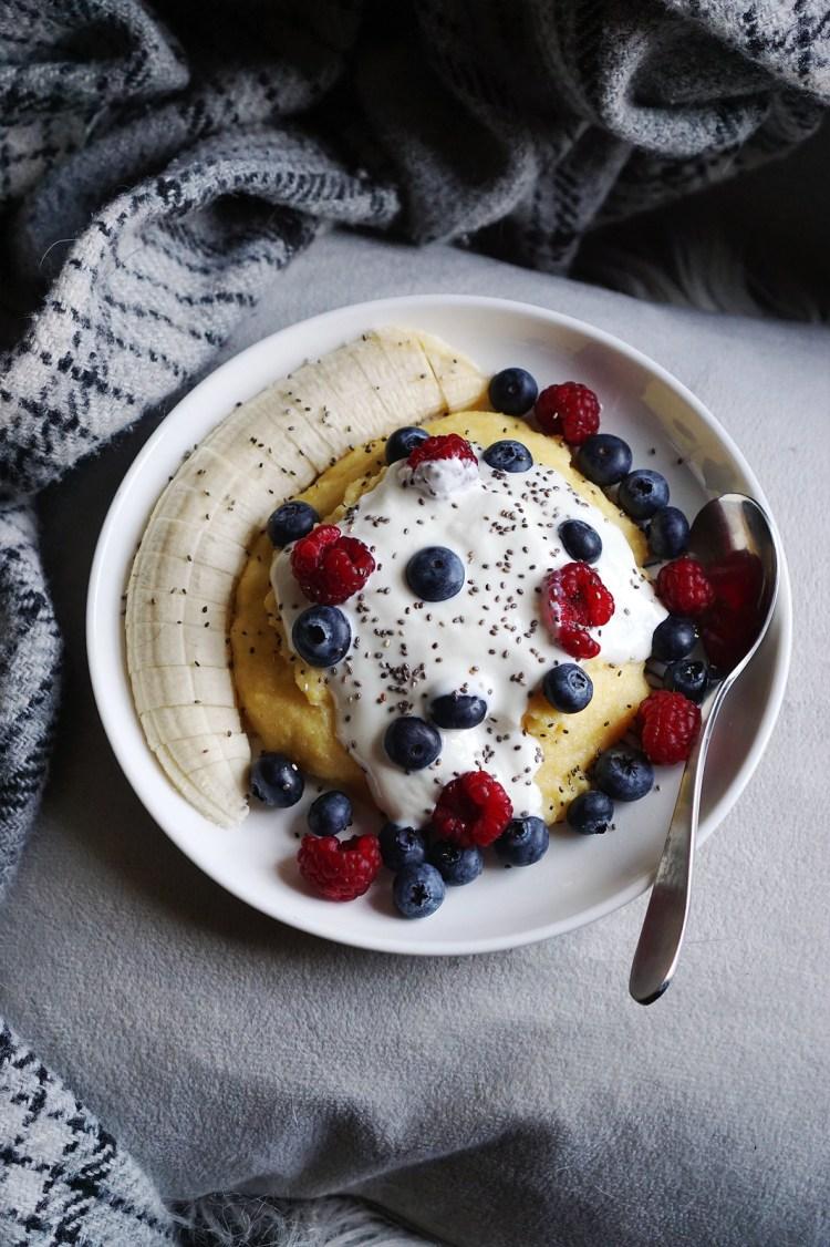 Gluten free polenta porridge   a naturally gluten free alternative to oatmeal