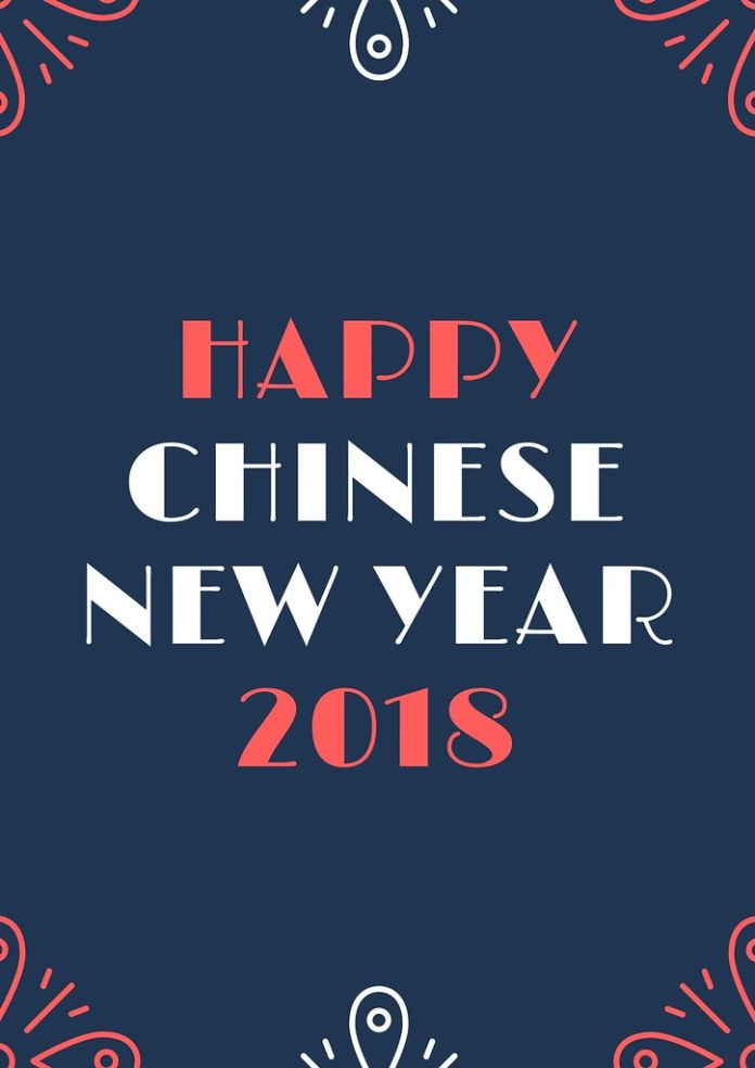 Chinese New Year in 2018