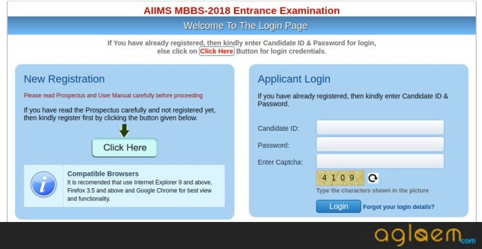 AIIMS 2018 How To Apply