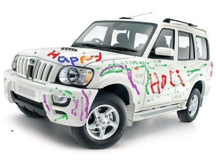 Tips to Protect Car and Bike on Holi