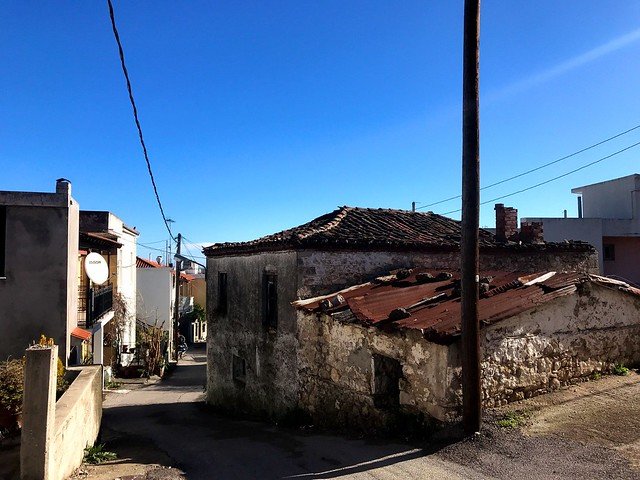 Agia Anna village on evia greece