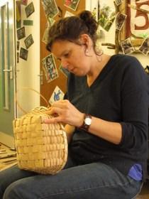 Ash splint basket course UK