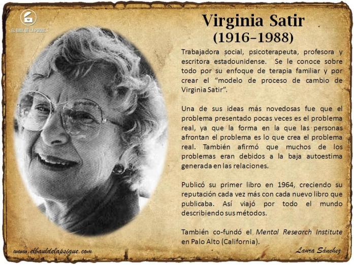 El Baúl de los Autores: Virginia Satir