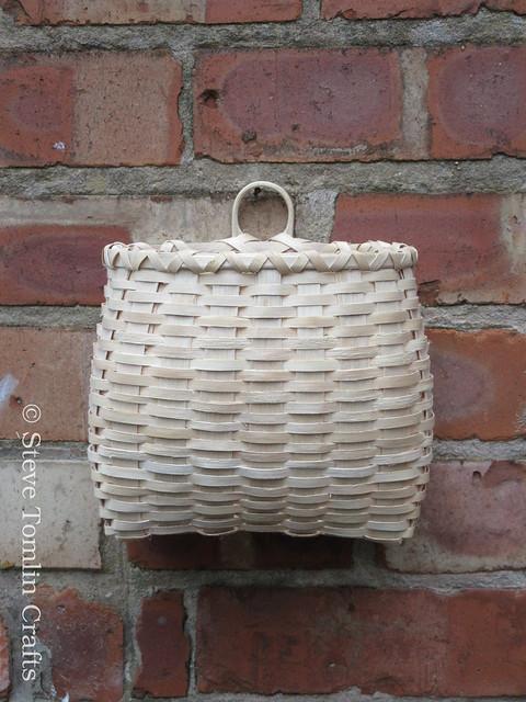 Ash splint wall basket UK