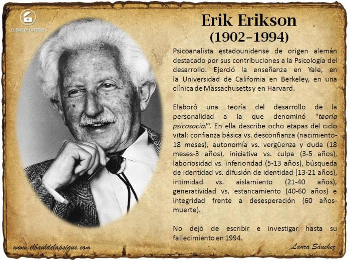 El Baúl de los Autores: Erik Erikson