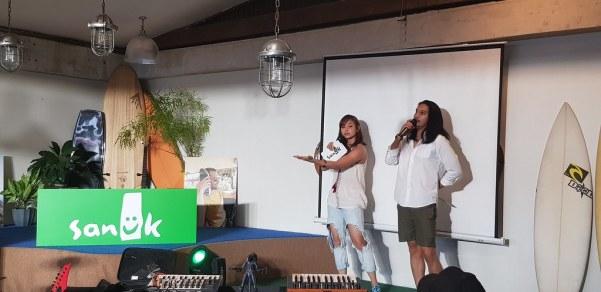 Bea Benedicto and Benj Manalo are the new ambassadors of Sanuk.