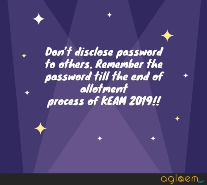 KEAM 2019 Application Form / Registration