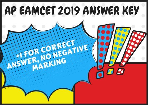 AP EAMCET 2019 Answer Key