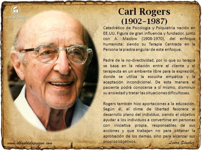 El Baúl de los Autores: Carl Rogers