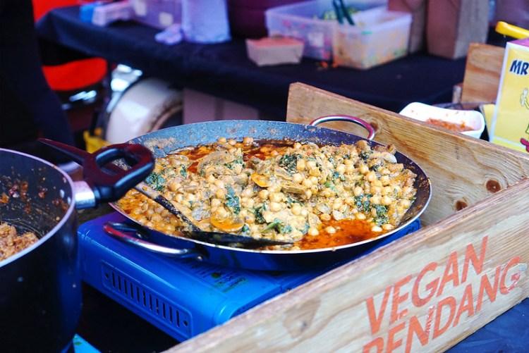 Makatcha market stall | gluten free Broadway Market guide | Hackney | East London