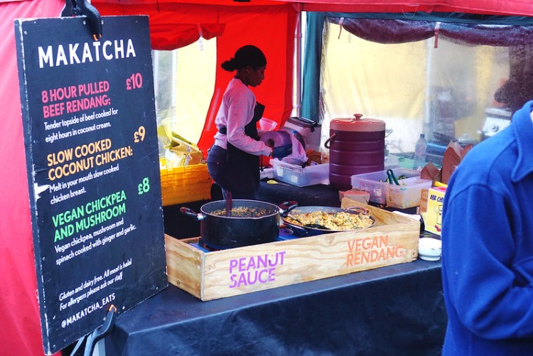 Makatcha market stall | gluten free Broadway Market guide | Hackney | East London