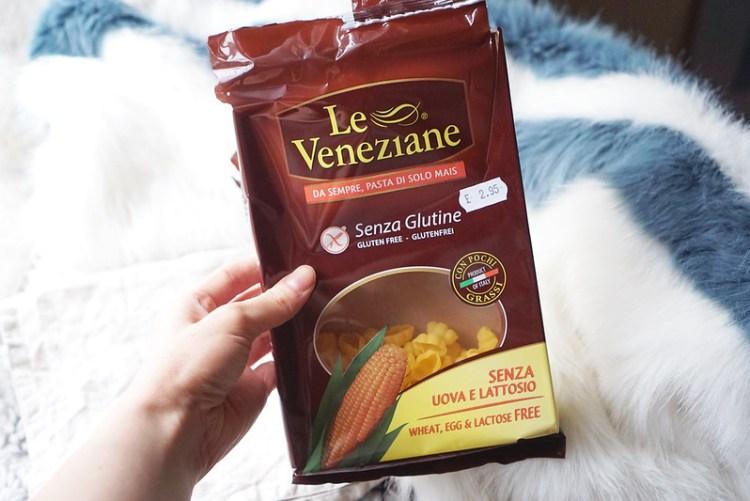 Le Veneziane pasta shells   Quick pressure cooker gluten free chicken noodle soup