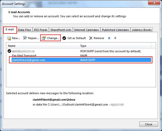 Cách khắc phục Outlook gửi nhiều lần với tài khoản Gmail (02)