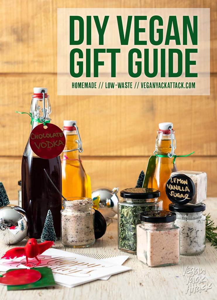 Gift giving can be hard, and when you get into the vegan niche it can become even more overwhelming! I'm here to help with my DIY Vegan Gift Guide, featuring homemade gifts, books, goodies, and more.