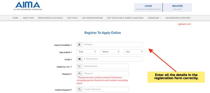 MAT 2019 Application Form