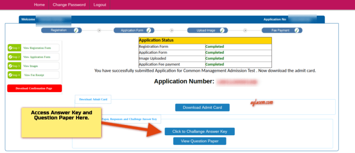 CMAT 2019 Answer Key Download