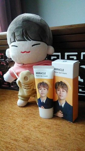 Seungkwan The Saem Seventeen Miracle Tone Up Cream