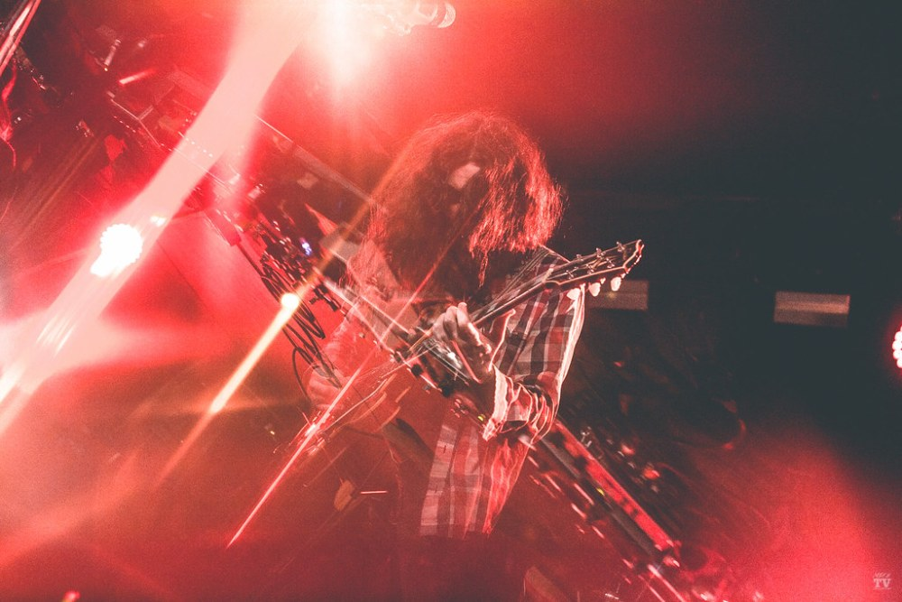 American musician Kurt Vile performing at Limelight Belfast in Belfast, Ireland on November 15th, 2018