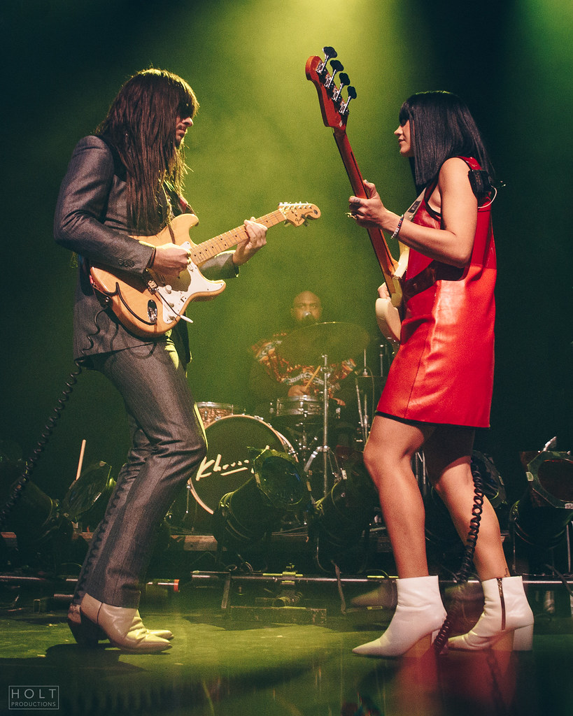 Khruangbin performing at The Vogue Theatre in Vancouver, BC on November 18th, 2018