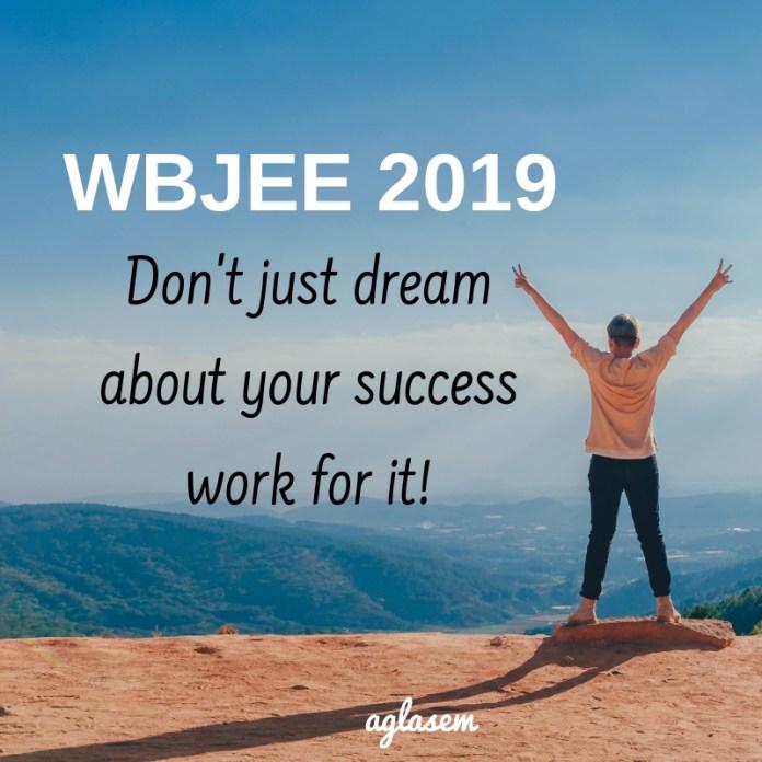 WBJEE 2019 Preparation