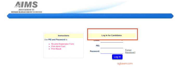 ATMA 2019 Admit Card download