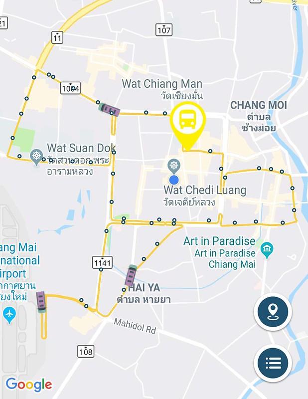 Getting Around Chiang Mai By Public Bus - The RTC Chiang Mai ... on night market map, chiang mai night bazaar shopping, chiang mai thailand sweethearts, koh tao map, chiang mai sunday market,