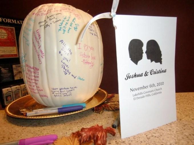 The Guestbook Pumpkin