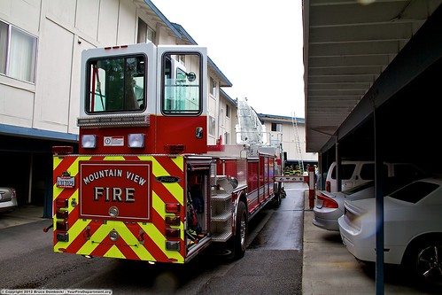 MTV Truck 1 April 10 2012 Mountain View Fire