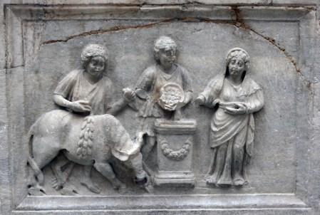 Image result for ancient sacrifice roman
