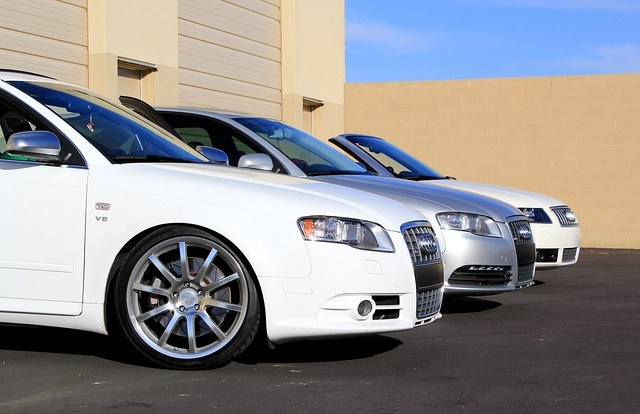 Sunday Audi Photoshoot - B7 S4, B6 S4, B7 A4