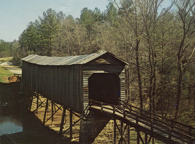 Long Cane Creek Covered Bridge