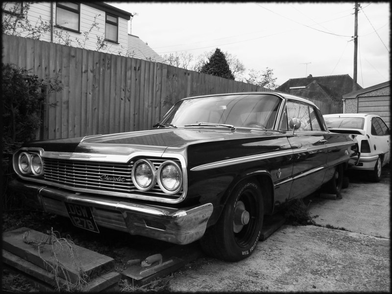 1960 chevrolet cars » 64 Chevrolet Impala SS   Arrived on these shores in 2000  o      Flickr     Chevrolet Impala SS   by Rob sg