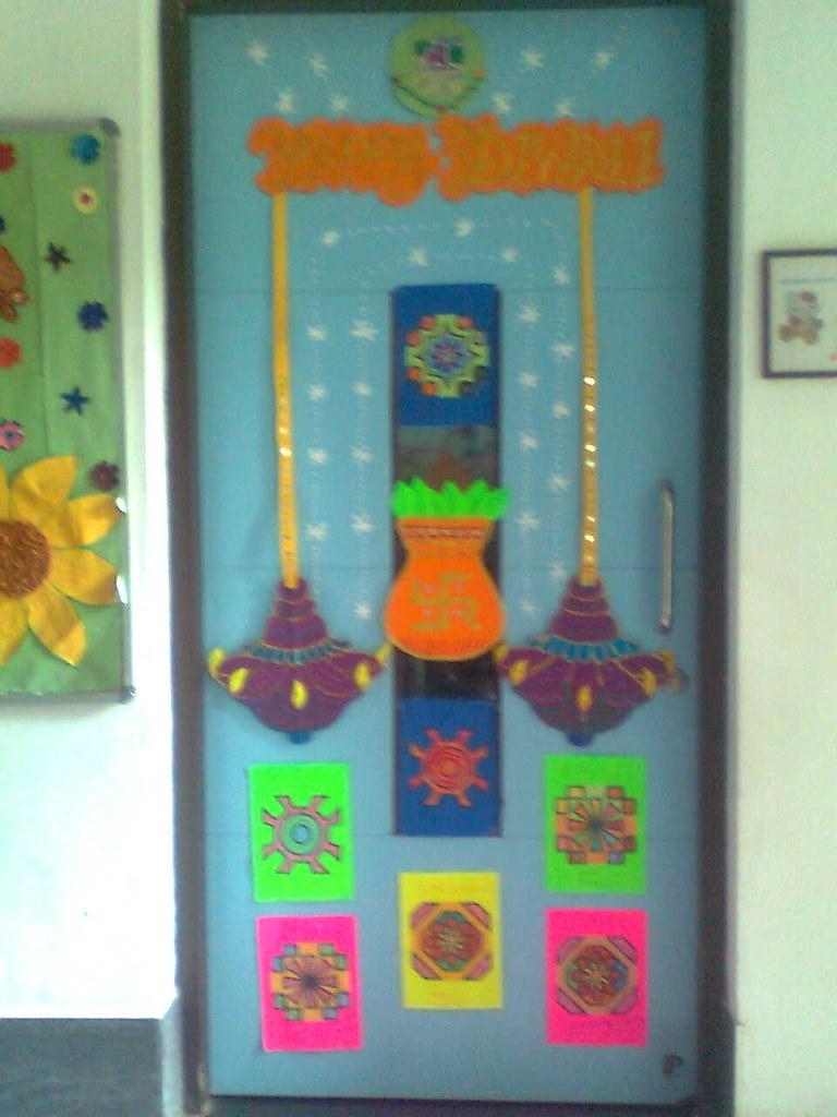 Diwali Board Decoration By Rekha Vyas