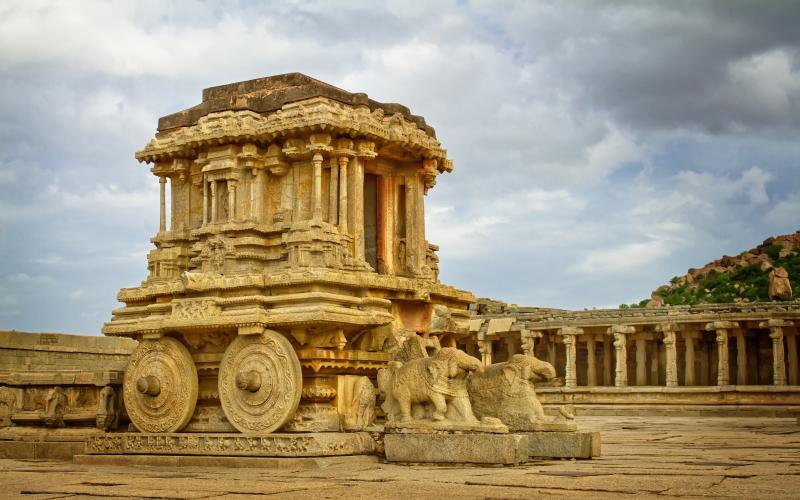 Stone Chariot - The Icon of Hampi